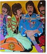 Beatles-lonely Hearts Club Band Acrylic Print by Bill Manson
