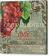 Beaujolais Nouveau 1 Acrylic Print by Debbie DeWitt