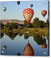 Beautiful Balloon Day Acrylic Print by Carol Groenen