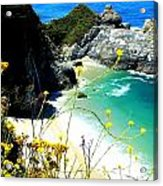 Beautiful Big Sur Acrylic Print by Marin Packer