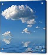 beautiful Clouds Acrylic Print by Boon Mee