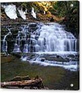 Beautiful Waterfalls Acrylic Print by Sheila Savage