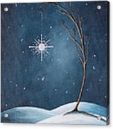 Beautiful Winterland By Shawna Erback Acrylic Print by Shawna Erback