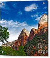 Beautiful Zion Acrylic Print by Robert Bales