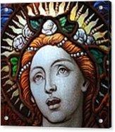 Beauty In Glass Acrylic Print by Ed Weidman