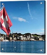 Beauty Of Lucerne Acrylic Print by Mountain Dreams