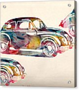 Beetle Car Acrylic Print by Mark Ashkenazi
