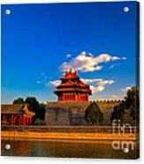 Beijing Forbidden City Acrylic Print by Fototrav Print