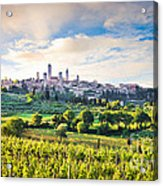 Bella Toscana Acrylic Print by JR Photography