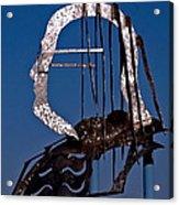 Ben Franklin Acrylic Print by Rona Black