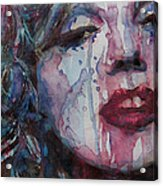 Beneath Your Beautiful Acrylic Print by Paul Lovering
