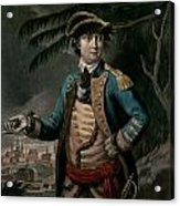 Benedict Arnold Acrylic Print by English School