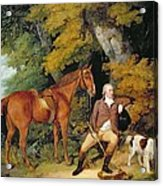 Benjamin Bond Hopkins, Before 1791 Acrylic Print by Francis Wheatley