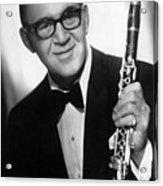 Benny Goodman (1909-1986) Acrylic Print by Granger