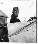 Bernetta Miller, Us Aviator Acrylic Print by Science Photo Library