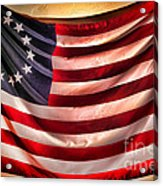 Betsy Ross Flag Acrylic Print by Olivier Le Queinec