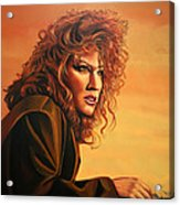 Bette Midler Acrylic Print by Paul Meijering