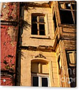 Beyoglu Old Houses 01 Acrylic Print by Rick Piper Photography