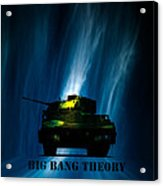 Big Bang Theory Acrylic Print by Bob Orsillo