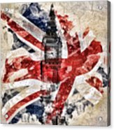 Big Ben Acrylic Print by Mo T