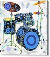 Big Boom Bullseye Acrylic Print by Russell Pierce