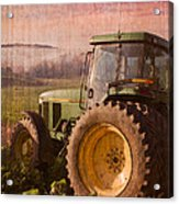 Big John Acrylic Print by Debra and Dave Vanderlaan