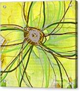 Big Pop Floral II Acrylic Print by Ricki Mountain
