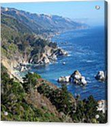 Big Sur Coast Ca Acrylic Print by Debra Thompson