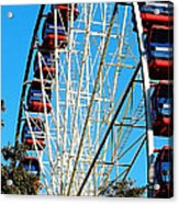 Big Wheel Acrylic Print by Kaye Menner