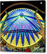 Big Wheel Keep On Turning Acrylic Print by Mark Miller