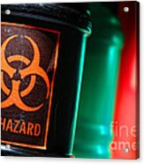 Biohazard Acrylic Print by Olivier Le Queinec