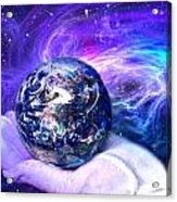 Birth Of A Planet Acrylic Print by Lisa Yount