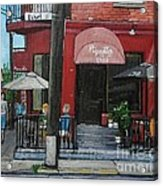 Bistro Piquillo In Verdun Acrylic Print by Reb Frost