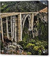 Bixby Creek Bridge Acrylic Print by Heather Applegate