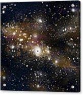 Black Hole No.4 Acrylic Print by Marc Ward