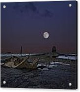 Black Nab And The Wreck Of The Admiral Von Tromp Acrylic Print by Graham Moore