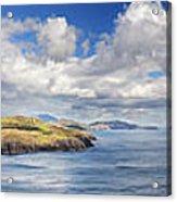 Blackball Head And Bantry Bay Acrylic Print by Michael David Murphy