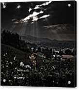 Blessed By Light Acrylic Print by Michael  Bjerg