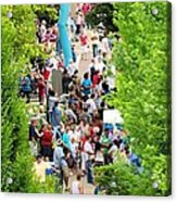 Block Party Acrylic Print by Jim Emmons