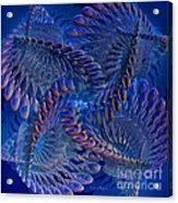 Blue 3 Acrylic Print by Deborah Benoit