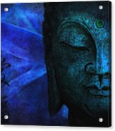 Blue Balance Acrylic Print by Joachim G Pinkawa