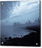 Blue Hour Mist Acrylic Print by Mary Amerman