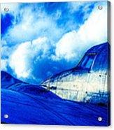 Blue Hudson Acrylic Print by motography aka Phil Clark