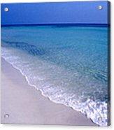 Blue Mountain Beach Acrylic Print by Thomas R Fletcher