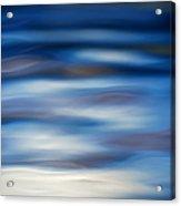Blue Ripple Acrylic Print by Tim Gainey
