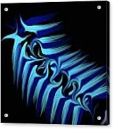 Blue Slug Acrylic Print by Michael Jordan