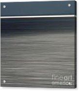 Blurred Sea Acrylic Print by Bernard Jaubert