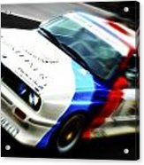 Bmw E30 M3 Racer Acrylic Print by Phil 'motography' Clark