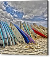Board Meeting Acrylic Print by Cheryl Young