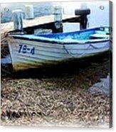 Boat 78-4 Acrylic Print by Ian  Ramsay